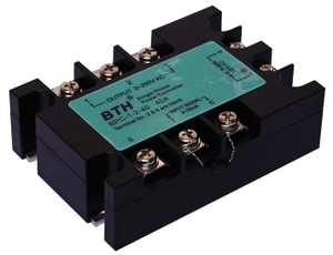 Bth Bpc-1-2-40 220 V 40 A Single Phase Analog Ssr Aux Power Controller