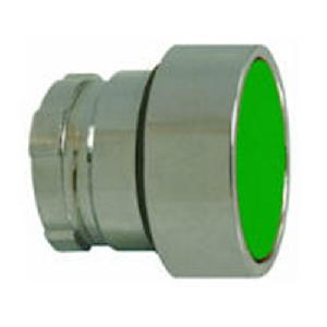 Teknic Push Button, Flush, Green, 2af3