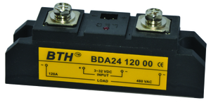 Bth Bda 24200 00 Dc To Ac Single Phase Long Heavy Duty Ssr
