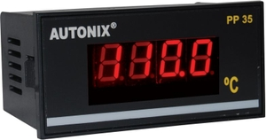 Autonix Pp 35-J-600  Digital Temperature Indicator 24v Dc