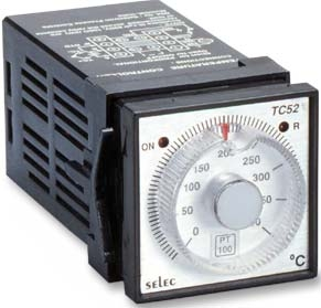 Selec Tc52-400-J-230 Ac Analog Temperature Controller Relay Output