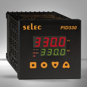 Selec Pid330-0-0-01 Temperature Controller Relay Output 4+4 Digits