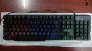 Techcom Keyboard Usb Rainbow Ttpl-999 Keyboard