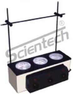 Scientech Se-188 3 Test Mantle Routine Soxhlet Extraction Unit