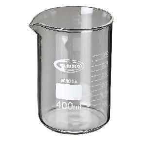 Glassco 229.202.08a Low Form With Spout Beaker 500 Ml