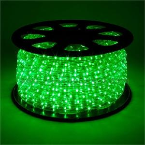 Vaibhavi Led Strip Rope Light,Water Proof,Decorative Led Light With Adapter (Green)