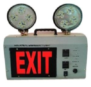 Skp Industrial Emergency Light With Exit Sign Model 2