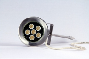 Noble Electricals 7.2w Warm White Led Garden Lights 220 V Ac Ip 65 Grey Powder Coated