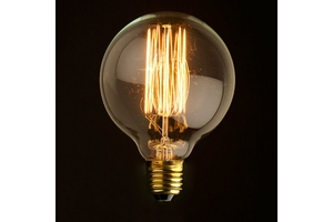 Noble Electricals 40w Atom Warm White Led Filament Bulb
