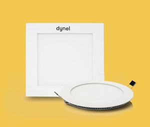 Dynel 12 W 960 Lm 175 X 22 Mm Round Warm White Led Panel Light