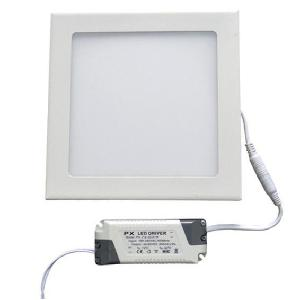 Egk 6w Slim Square Led Panel Light With Driver(Warm White)