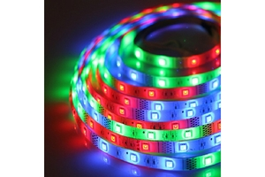 Noble Electricals Flexible Led Strip Lights Rgb (7.2 W) Length 5m - Ip 65