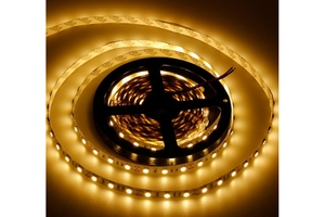 Noble Electricals Flexible Led Strip Lights Warm White (12 W) Length 5m - Ip 65