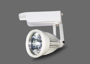 Noble Electricals Ne/Trk 1*20 (20w) Cool White Led Pearl Track Light