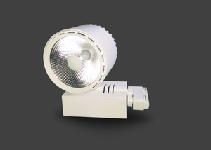 Noble Electricals Ne/Trkpl 1*40 (40w) Warm White Led Pearl Track Light