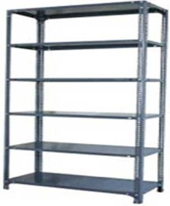 Ib Basics Storage Rack 6 Shelf 87x15x36 Inch 90 Kg Udl