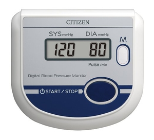 Citizen Digital Automatic Blood Pressure Monitor Ch-432