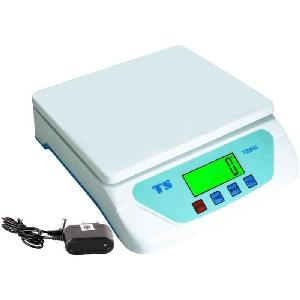 Ms 30kg White Digital Weighing Machine With Adapter, Ts-500