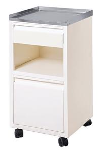 Ib Basics Deluxe Bed Side Locker Wh1153