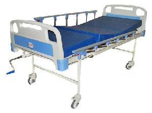 Ib Basics Semi Fowler Hospital Bed With Mattress, Side Railing And Wheel Wh-509 B