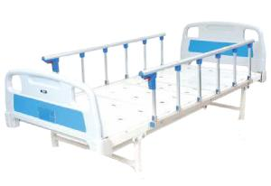 Ib Basics Plain Hospital Bed With Side Railing Wh-409