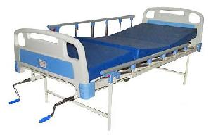 Ib Basics Full Fowler Hospital Bed With Mattress And Side Railing Wh-609 C