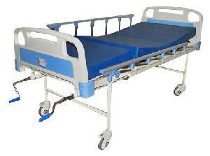 Ib Basics Full Fowler Hospital Bed With Mattress And Side Railing