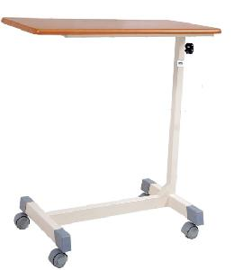 Ib Basics Over Bed Table With Laminated Top Wh-558