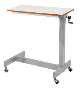 Ib Basics Mayo's Type With Gear Handle S.S. Over Bed Table Wh1148