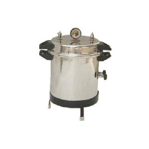 Aar Kay Single Drum Portable Autoclave 12 X 22 Inch Ake-054
