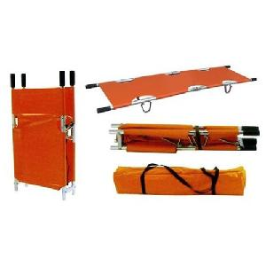 Ib Basics 2 Fold Aluminium Folding Type Stretcher Wh-4006