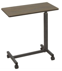 Ib Basics Over Bed Table Mechanical Type Wh-136