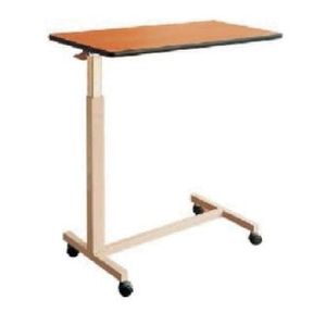 Ib Basics Over Bed Table Manual Type Wh-129