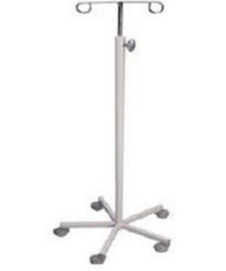 Ib Basics Saline Stand Ms Base With Pipe Wh-578 C