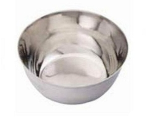 Ib Basics 8 Inch Stainless Steel Hospital Bowls