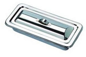 Ib Basics Stainless Steel Catheter Tray 17x4 Inch
