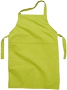 Sanctum Xl Green Polyester And Cotton Blend Apron Swm 5004