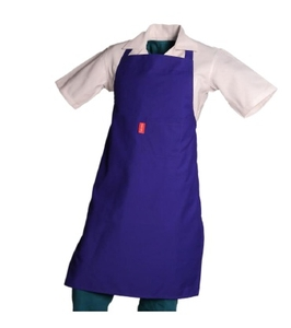 Sanctum 6xl Navy Blue Polyester And Cotton Blend Apron Swm 5004