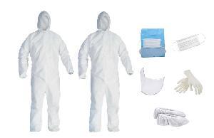 IB Basics 90 GSM PPE Kit Pack of 2 Kits