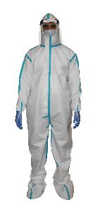 Tynor Personal Protective Equipment Kit Premium Soft Fabric (Ppe7)-Small