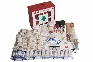 St. Johns First Aid Kit Large Industrial Kit First Aid Kit Gwt Ml1