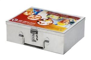 Standard Stainless Steel A No First Aid Kit