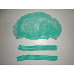 Z Plus 21 Inch Green Bouffant Cap