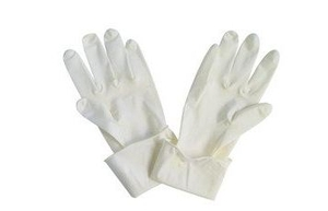 Surgilatex Natural Rubber Latex Exmination Hand Gloves Medium