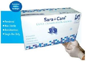 Sara Care Large Latex Examination Glove