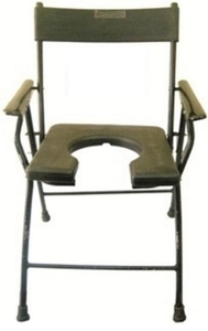 Albio Universal Size  Commode Chair With Handle Wa-37