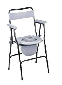 Flamingo Classic Folding Commode Chair (Basic) Oc2283