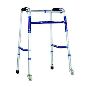 Dyna Rehaid Walking Frame With Wheels-Universal