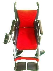Hero Power Wheelchair Weight Capacity 100 Kg Red