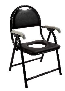 Panacea Rexine Commode Chair Ai-311